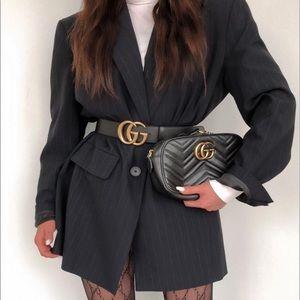 Wool blend pinstripe Zara blazer